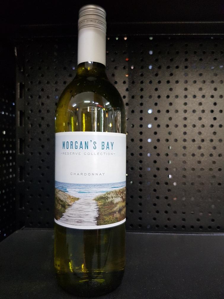 Morgans Bay Chardonnay front reserve