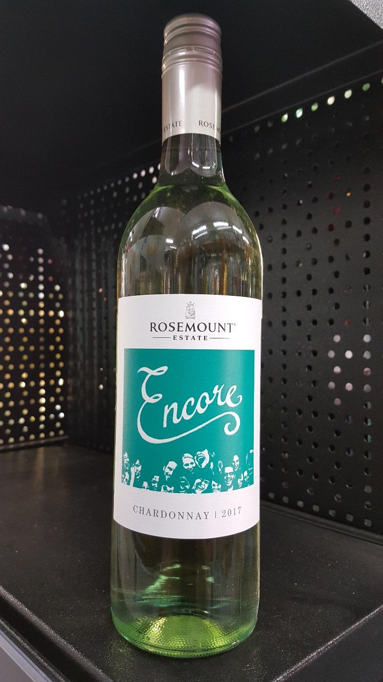 Rosemount Encore Chardonnay Op front